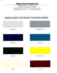 Epoxy Products Solvent Free Epoxy Floor Paint Color Chart
