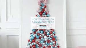 how to create an ornament tree martha stewart living
