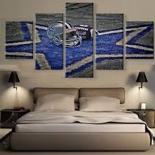online get cheap dallas cowboy decor aliexpress com alibaba group 5 piece hd print large dallas cowboys logo poster modern decorative paintings on canvas wall art for home decorations wall decor