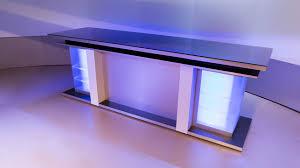 Single Desk Design 2 New News Desk Set Design Products Tv Set Designs