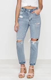 favorite blue pacsun favorite blue mom jeans at pacsun com