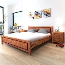 Bed Frame Used Solid Wood Bed Frame Used With Storage Pine