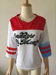 harley quinn full costume u2013 jacket shirt shorts glove belt
