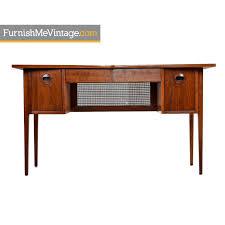 Modern Walnut Desk Restored Mid Century Scandinavian Modern Solid Walnut Top Bow Tie