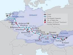 Passau Germany Map by Last Minute Luxury Cruise Sale