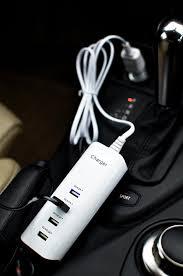 amazon com lilware 4 ports car usb charger 20w cigarette lighter