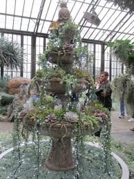 christmas tree made of succulents picture of longwood gardens