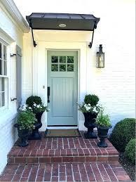Exterior Door Awnings Front Door Awnings Wood Best Front Door Awning Ideas On Metal