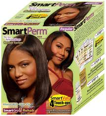 amazon com smart perm relaxer hair care kit super hair