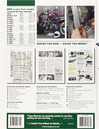 bmw r850 1100 and 1150 4 valve twins service and repair manuals