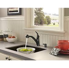 Kitchen Faucet With Soap Dispenser by Black Shelton 1 Handle Pull Out Kitchen Faucet With Soap