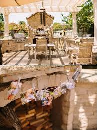 Backyard Bridal Shower Ideas Backyard Bridal Shower In Peach And Gold