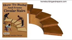 Stairs Book by How To Build And Frame Curved Circular Stairway U2013 Example 5 From