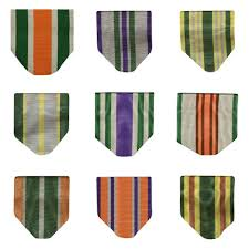 parade ribbon army jrotc ribbon drape awards series numbers glendale parade