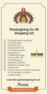 food bank of delaware food drive time thanksgiving for all