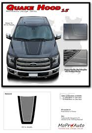 Ford F150 Truck Decals - 2015 2017 quake hood ford f 150 tremor style decals stripes 3m