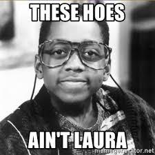 Meme Laura - these hoes ain t laura urkel meme generator