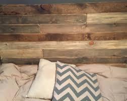 Wood Pallet Headboard Pallet Headboard Etsy