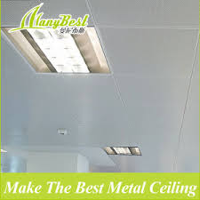 Suspended Ceiling Tiles Price by China 2017 Good Price Aluminum Suspended Clip In Ceiling Tile 60