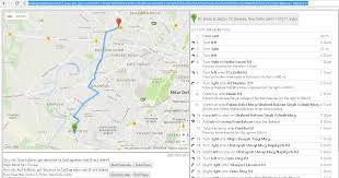 Google Map India by Google Directions Api Result Is Different From Google Maps Result