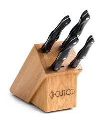 studio set with block 6 pieces knife block sets by cutco