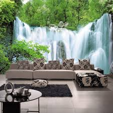 online buy wholesale waterfall mural from china waterfall mural