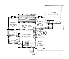 House Plans With Keeping Rooms Habersham John Tee Architect Southern Living House Plans