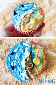 summertime vacation time beach ocean u0026 shark cupcakes niner bakes
