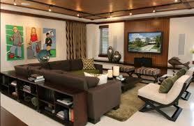 contemporary decor familyroom media room just decorate