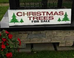 trees for sale wood sign inspired by fixer