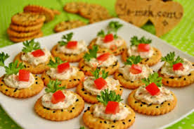 canapes fruit jam biscuit canapes recipe