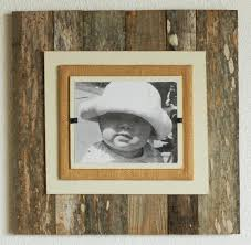 wood frame wall decor reclaimed wood xl wall frame twinkle twinkle one