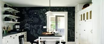 mur noir cuisine deco mur noir idaces dacco cuisine avec une peinture tableau noir