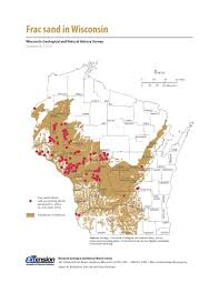 Lake Geneva Wisconsin Map by Map Of The Day June 10 Frac Sand In Wisconsin Wisconsin