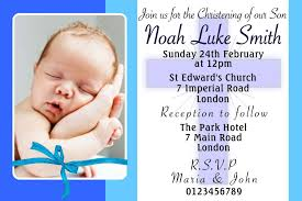 Personalised Christening Invitation Cards Baptism Invitations Personalised Invite