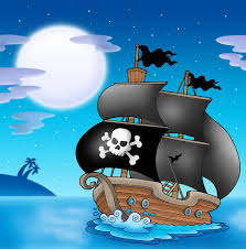 pirate wall decals totally kids totally bedrooms kids bedroom pirate ship sailing