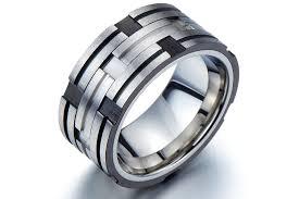 unique mens wedding rings wedding rings mens wedding ring titanium brilliant mens titanium