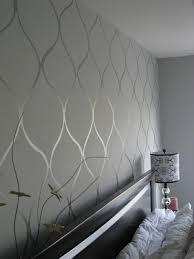 tapeten ideen schlafzimmer tapete in grau stilvolle vorschläge für wandgestaltung