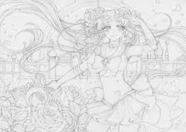 sailor moon crystal line art by princess ailish on deviantart