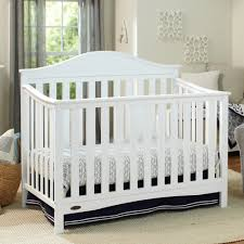 Graco Espresso Convertible Crib by Graco Cribs Harbor Lights Convertible Crib With Mattress In White