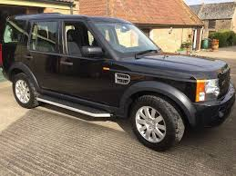 land rover black inside land rover discovery 3 tdv6 se a black diesel auto 2008 only