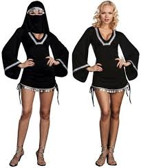 Burka Halloween Costume Costume Monster Monster Costume Ink