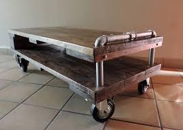meuble fait en palette table basse palette sur roulette u2013 phaichi com