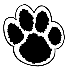 dog paw print colouring pages page 2 clip art library