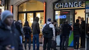 bureau de change suisse la suisse laisse s envoler franc et provoque une tempête