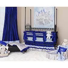 Gold Crib Bedding Sets Preston Royal Blue Crib Bedding Set Little Prince Charming