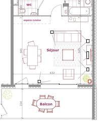 plan salon cuisine sejour salle manger amenagement salon cuisine 30m2 jet set