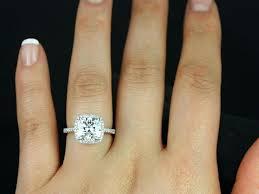 2 s ring engagement rings 2 carat diamond s 2 carat princess cut diamond