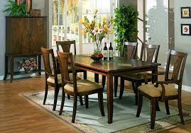 dark wood dining room chairs gorgeous modern wood dining table and