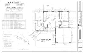 wall blueprints sds233 contractor spec house plan 3 bdrm 2 bath main 1367 sq ft